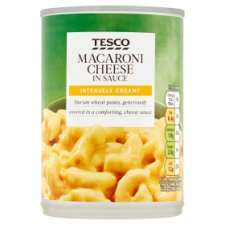 Tesco Macaroni Cheese In Sauce 385G