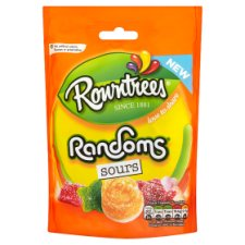 Rowntrees Randoms Sours Pouch 150G