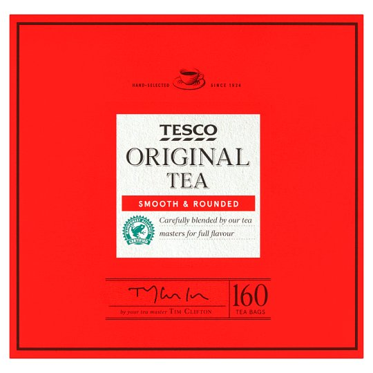 Tesco 160 Teabags 500G