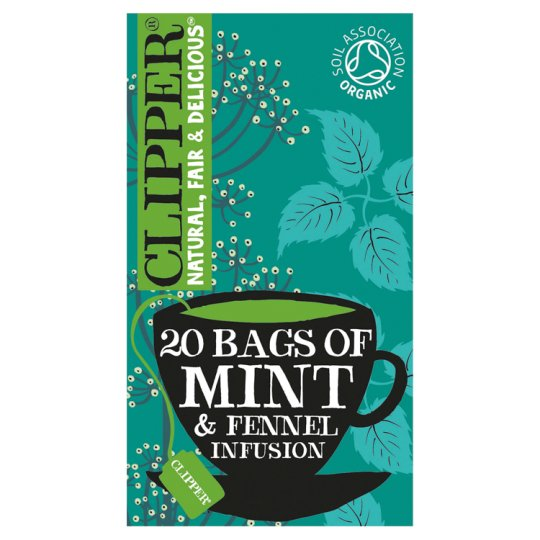 Clipper After Dinner Mints And Fennel T/Bags38g