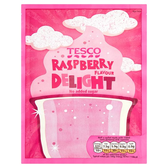 Tesco Raspberry Delight 49G