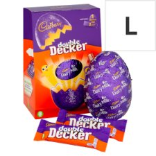 Cadbury Double Decker Chocolate Egg 287G