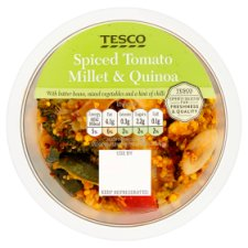 Tesco Spiced Tomato Millet And Quinoa 170G
