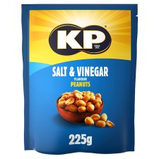Kp Salt And Vinegar Peanuts 225G
