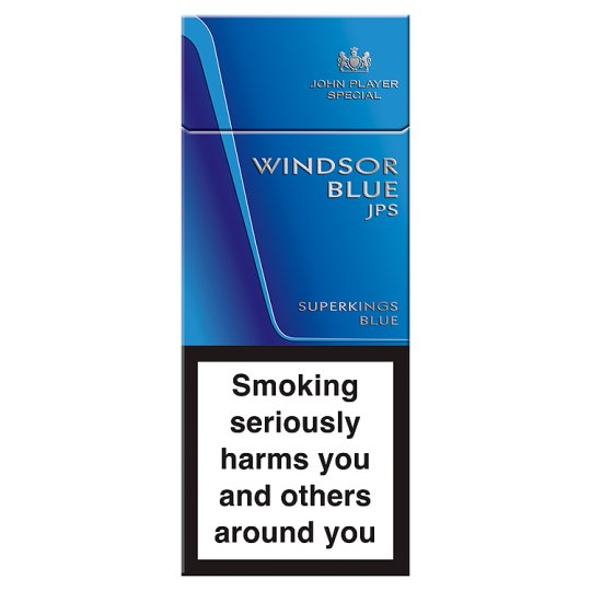 Windsor Blue Superkings 10 Pack