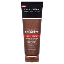John Frieda Brilliant Brunette Visibly Deeper Conditioner 250Ml