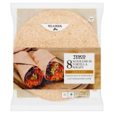 Tesco Tortilla Wholemeal 8Pk 512G