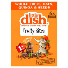 Little Dish Carrot Cake Fruity Bar 6X25g