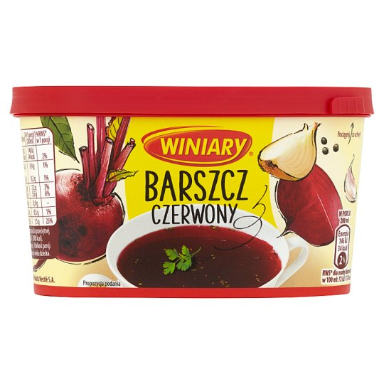 Winiary Instant Red Borsch 170G