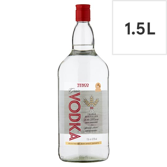 Tesco Imperial Vodka 1.5L