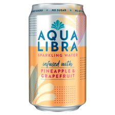 Aqua Libra Grapefruit And Pineapple 330Ml