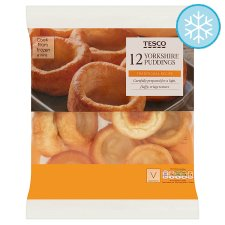 Tesco 12 Yorkshire Puddings 230G
