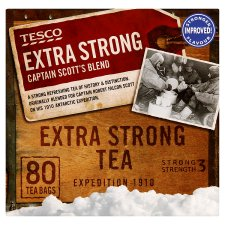 Tesco Captain Scott 80 Tea Bags 250G