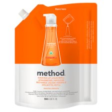 Method Washing Up Liquid Refill Clementine 1064Ml