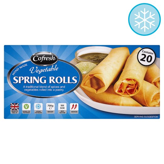 Cofresh Vegetable Spring Rolls 700G