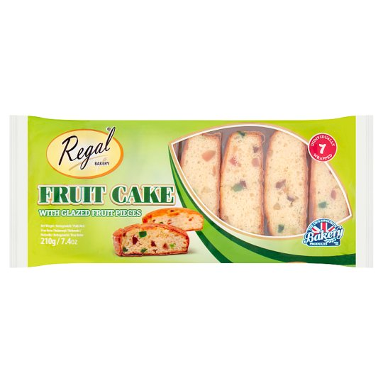 Regal Classic Fruit Cake Slices 7S