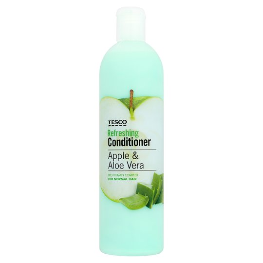 tesco apple and aloevera conditioner 500ml groceries. Black Bedroom Furniture Sets. Home Design Ideas