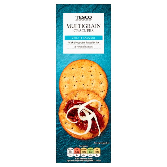 Tesco Multigrain Cracker 170G