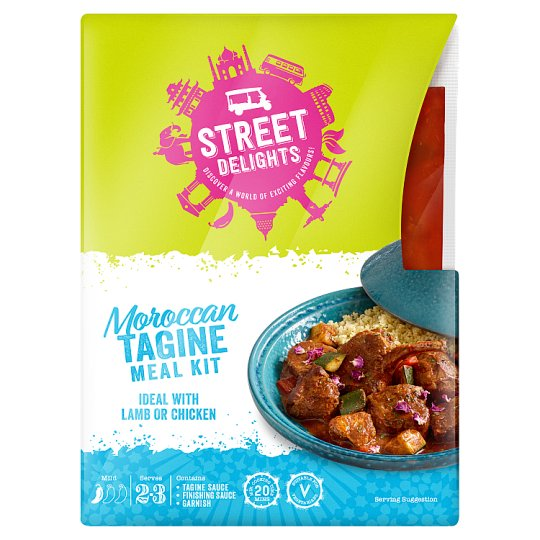 Street Delights Moroccan Tagine Meal Kit 300G