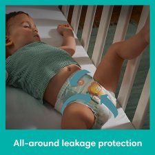 image 3 of Pampers Baby Dry Size 4+ Jumbo+ Pack 76 Nappies