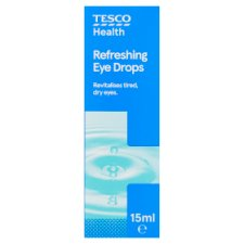 Tesco Refreshing Eye Drops 15Ml
