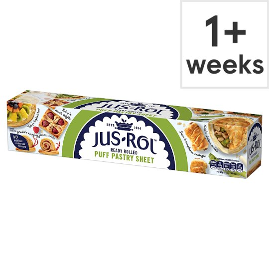 Jus-Rol Puff Pastry Ready Rolled Sheet 320G