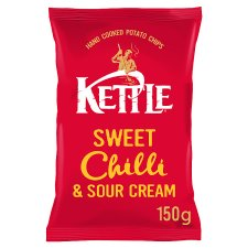 Kettle Chips Sweet Chilli Crisps 150 G