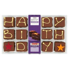 Tesco Birthday Cake Cubes 15 Pack