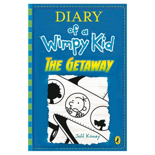 The Getaway Diary Of A Wimpy Kid (Book 12)