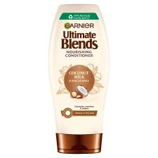image 1 of Garnier Ultimate Blends Coconut Milk Conditioner Dry Hair 360Ml