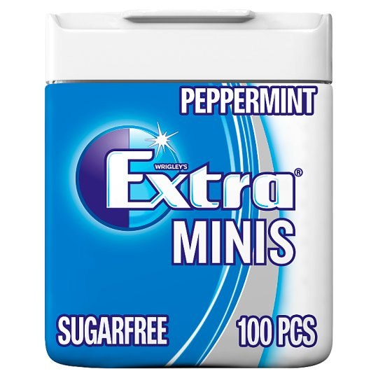 Wrigley's Extra Peppermint Gum Minis Pellets