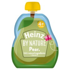 Heinz By Nature Pear Fruit Pouch 100G