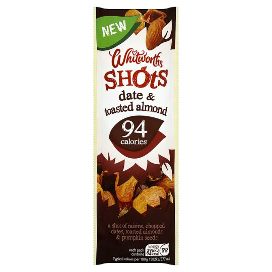 Whitworths Date And Almond Shot 25G