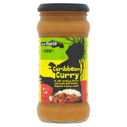 Levi Root Reggae Caribbean Curry Cooking Sauce 350G