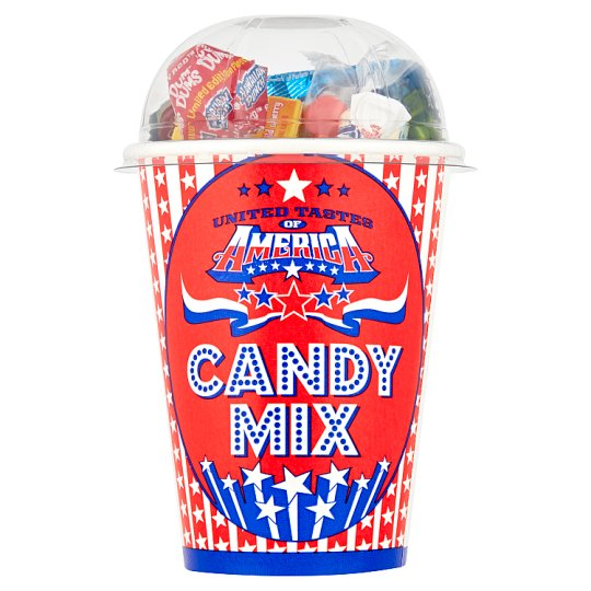 United Tastes Of America Mixed Candy Cup 200G