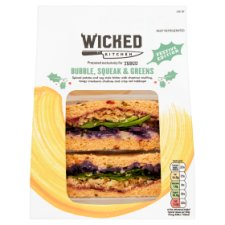Wicked Kitchen Bubble And Squeak Greens Sandwich