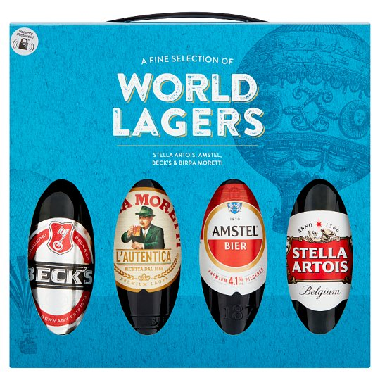 Lagers Of The World Selection Gift Set