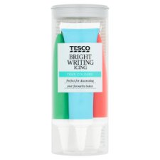 Tesco Bright Writing Icing 76G