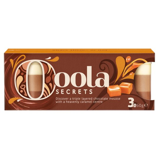 image 1 of Ooola Secrets Triple Chocolate Mousse 180G