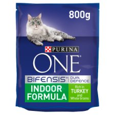 Purina One Cat Indoor Formula Turkey/Rice 800G