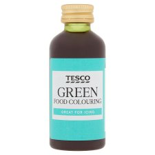 Tesco Green Food Colouring 60Ml