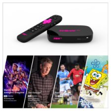 NOW TV Smart Box with 4K and 1 month Entertainment, Sky Cinema, Kids and 1 day Sky Sports Passes