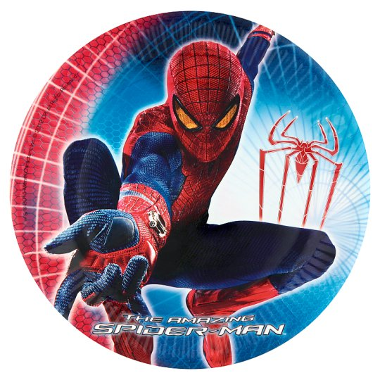 Spiderman Plate 8Pk