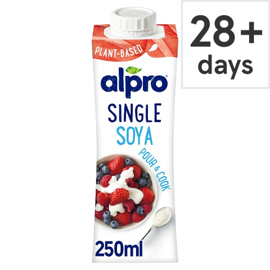 Alpro Soya Single Chilled Soya Alternative To Cream 250Ml