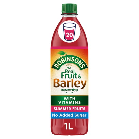 Robinsons Fruit And Barley Summer Fruits 1L