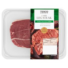 image 1 of Tesco Lamb Leg Steaks 150G