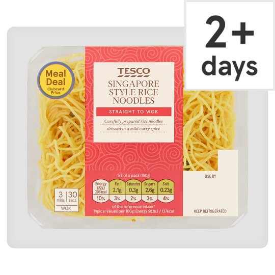 Tesco Singapore Noodles 300G