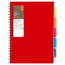 Tesco A4 Project Book 125 Sheets