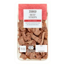 Tesco Roasted Beef Strips 120G
