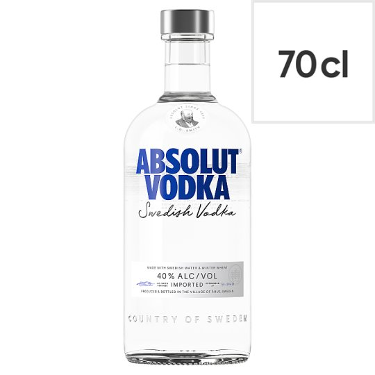 Absolut Swedish Vodka 70Cl